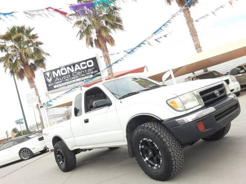 2000 Toyota Tacoma for sale at Monaco Auto Center LLC in El Paso TX