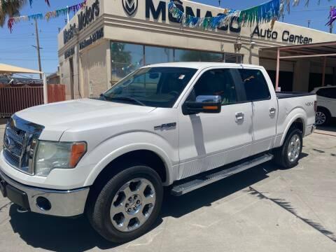 2010 Ford F-150 for sale at Monaco Auto Center LLC in El Paso TX