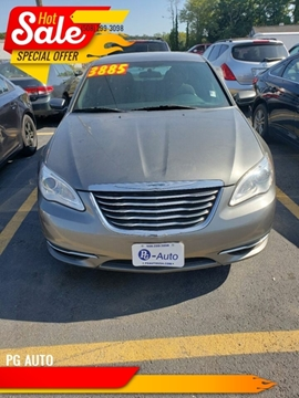 2012 Chrysler 200 for sale in Worcester, MA