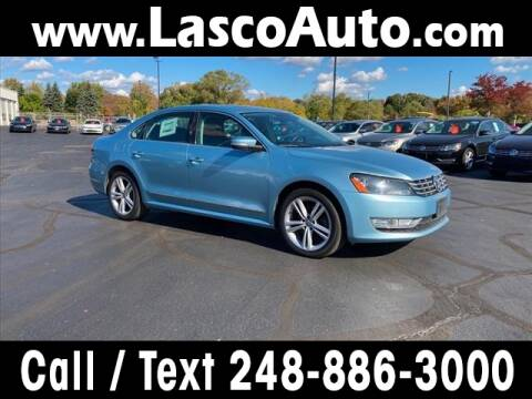 2013 Volkswagen Passat for sale at Lasco of Waterford in Waterford MI