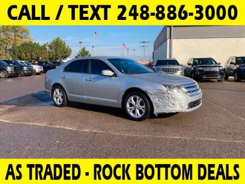 2012 Ford Fusion for sale at Lasco of Waterford in Waterford MI