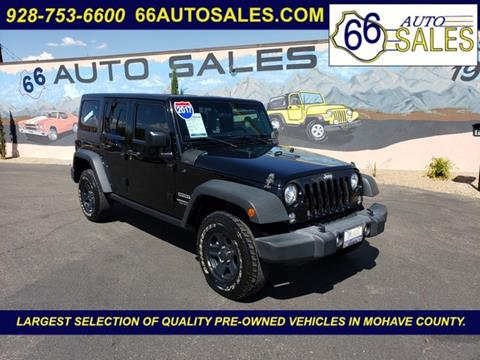 2017 Jeep Wrangler Unlimited for sale in Kingman, AZ