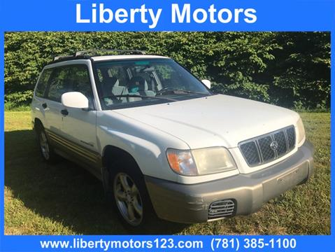 2001 Subaru Forester for sale in Hanson, MA