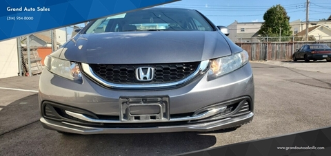 Honda Dealership St Louis Mo >> Honda For Sale In St Louis Mo Grand Auto Sales