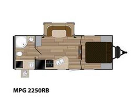 2016 Cruiser RV MPG 2250RB for sale in Burlington, WI