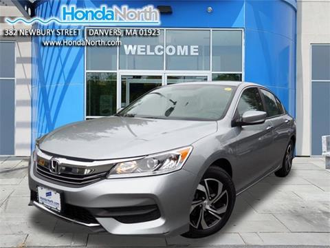 2017 Honda Accord for sale in Danvers, MA
