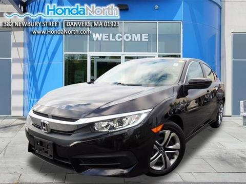 2016 Honda Civic for sale in Danvers, MA