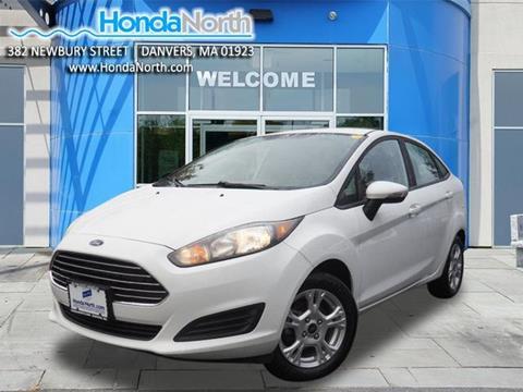 2016 Ford Fiesta for sale in Danvers, MA