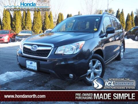 2015 Subaru Forester for sale at 1 North Preowned in Danvers MA
