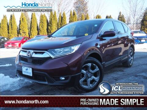 2017 Honda CR-V for sale at 1 North Preowned in Danvers MA