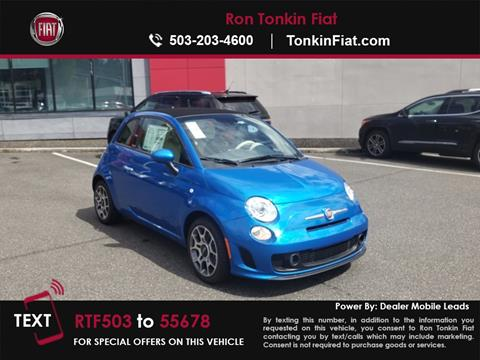 2018 FIAT 500c for sale in Portland, OR