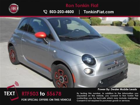 2016 FIAT 500e for sale in Portland, OR