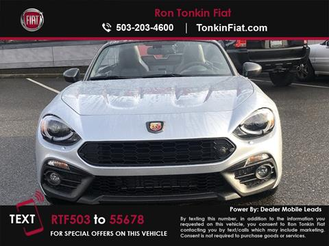 2019 FIAT 124 Spider for sale in Portland, OR