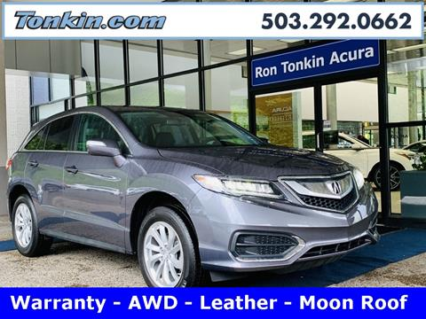 2017 Acura RDX for sale in Portland, OR