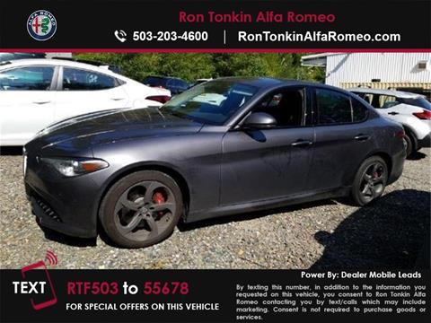 2017 Alfa Romeo Giulia for sale in Portland, OR