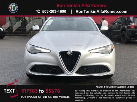2019 Alfa Romeo Giulia for sale in Portland, OR