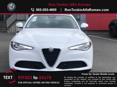 Alfa Romeo Giulietta 2018 >> 2018 Alfa Romeo Giulia For Sale In Portland Or