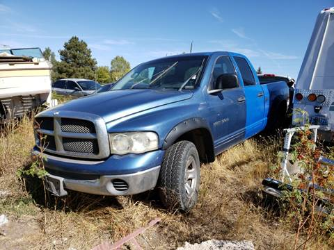 2002 Dodge Ram Pickup 1500 for sale at DK Super Cars in Cheyenne WY