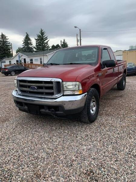 2002 Ford F-250 Super Duty for sale at DK Super Cars in Cheyenne WY