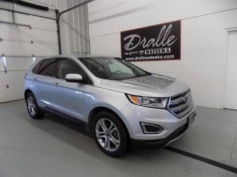 2016 Ford Edge Titanium for sale at Dralles Chevrolet Buick GMC Cadillac in Watseka IL
