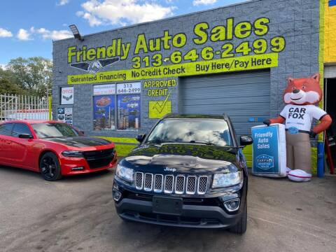 2015 Jeep Compass for sale at Friendly Auto Sales in Detroit MI