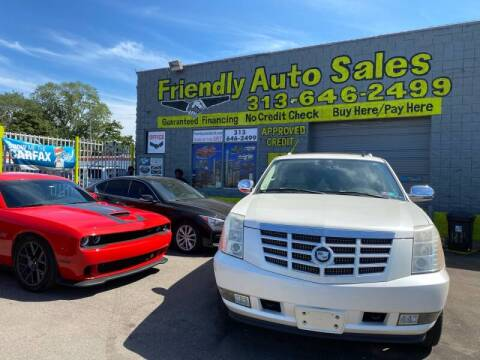 2007 Cadillac Escalade for sale at Friendly Auto Sales in Detroit MI