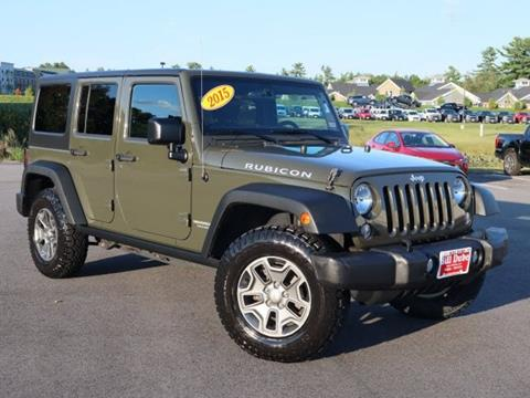 2015 Jeep Wrangler Unlimited for sale in Dover, NH