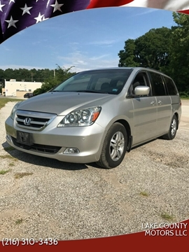 2007 Honda Odyssey for sale in Mentor, OH