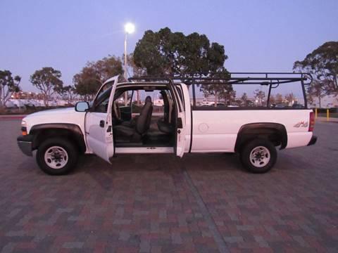2000 Chevrolet Silverado 2500 for sale in National City, CA