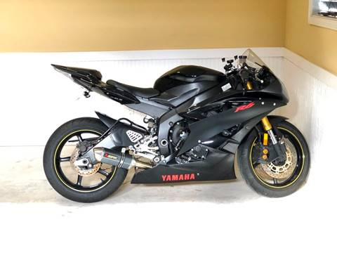 2006 Yamaha YZF-R6 for sale at 3 Brothers Motorsports LLC in Jefferson GA