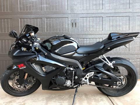 2007 Suzuki GSX-R600 for sale at 3 Brothers Motorsports LLC in Jefferson GA