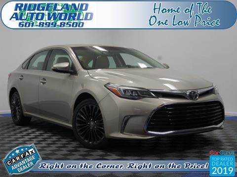 2016 Toyota Avalon for sale in Ridgeland, MS