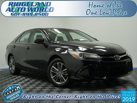 2017 Toyota Camry for sale in Ridgeland, MS