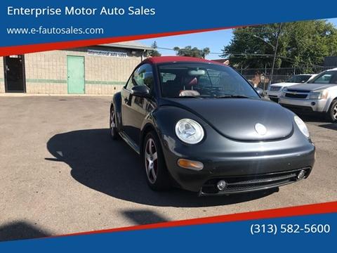2005 Volkswagen New Beetle for sale in Detroit, MI