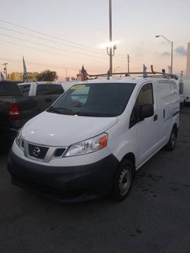 2015 Nissan NV200 S for sale at MANA AUTO SALES in Miami FL