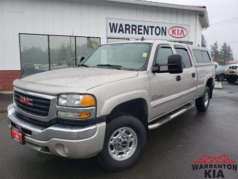 2006 GMC Sierra 2500HD for sale in Warrenton, OR