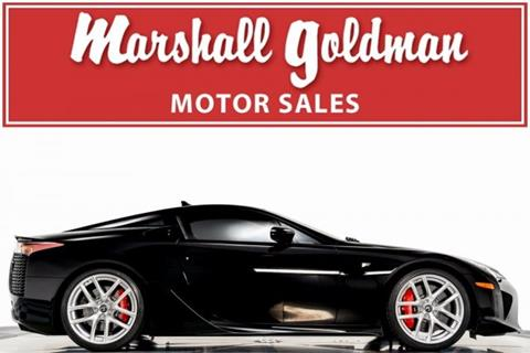 2012 Lexus LFA for sale in Cleveland, OH