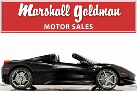 2014 Ferrari 458 Spider for sale in Cleveland, OH