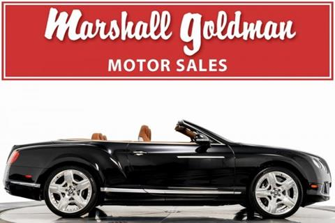 2013 Bentley Continental for sale in Cleveland, OH