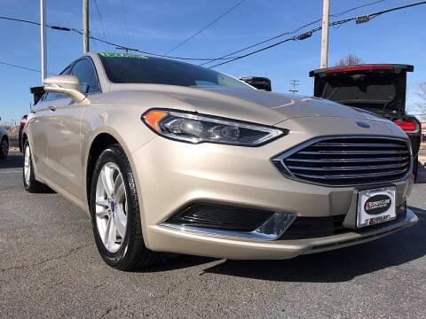 2018 Ford Fusion SE for sale at Shoreline Auto Center in Virginia Beach VA
