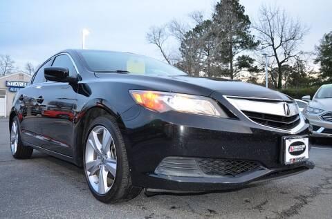 2014 Acura ILX 2.0L for sale at Shoreline Auto Center in Virginia Beach VA