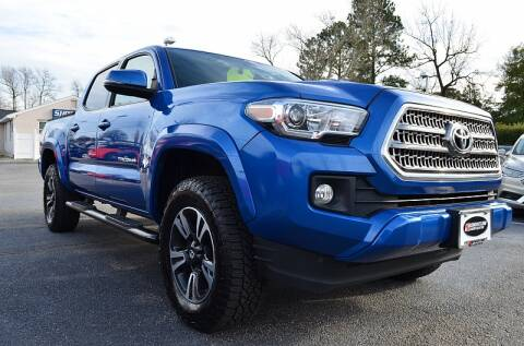 2017 Toyota Tacoma for sale at Shoreline Auto Center in Virginia Beach VA