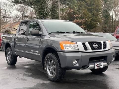 2015 Nissan Titan for sale at Shoreline Auto Center in Virginia Beach VA