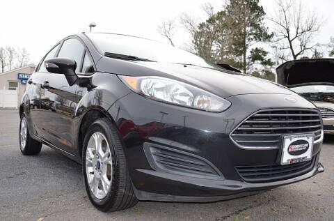 2015 Ford Fiesta SE for sale at Shoreline Auto Center in Virginia Beach VA