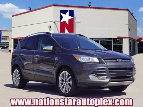 2016 Ford Escape for sale in Lewisville, TX