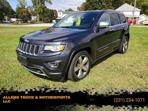 2015 Jeep Grand Cherokee Overland for sale at ALLENS TRUCK & MOTORSPORTS LLC in Buckley MI