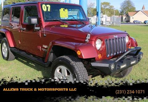 2007 Jeep Wrangler Unlimited for sale in Buckley, MI