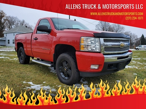 2011 Chevrolet Silverado 1500 LT for sale at ALLENS TRUCK & MOTORSPORTS LLC in Buckley MI
