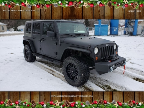 2009 Jeep Wrangler Unlimited for sale in Buckley, MI
