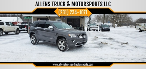 2014 Jeep Grand Cherokee Overland for sale at ALLENS TRUCK & MOTORSPORTS LLC in Buckley MI
